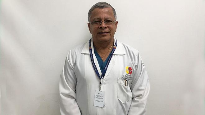 Guillermo Maruri, l�der de centro Obst�trico HGS.