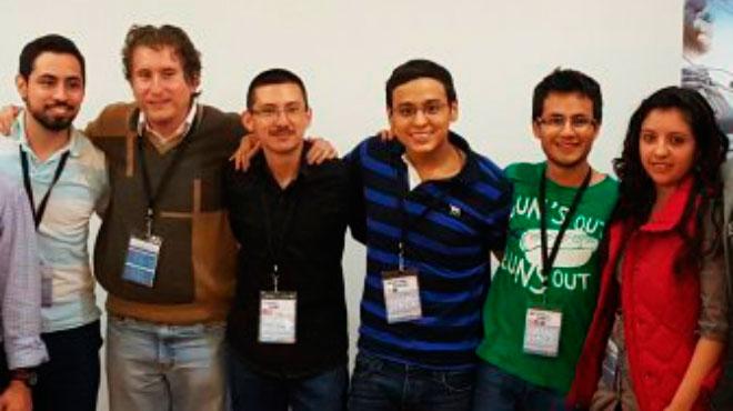 Andr�s Erazo, Javier Poveda, Santiago Aguiar, Sebasti�n Romero, Esteban Garc�s, F�tima Atencia.