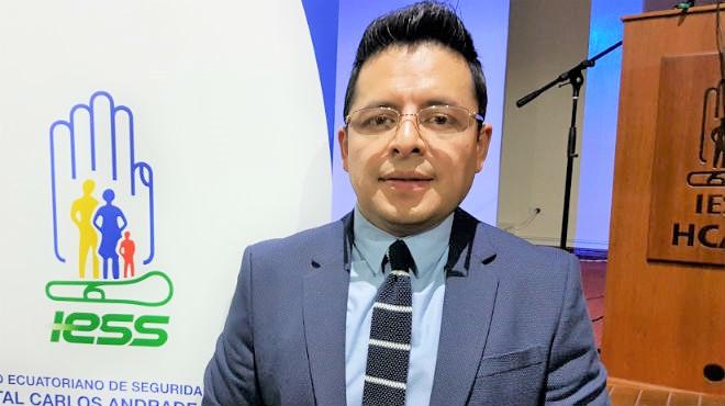 Mauricio Heredia, director m�dico del HCAM.