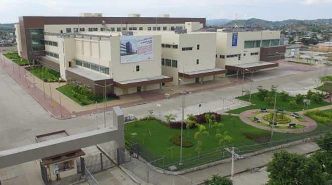 Nuevo hospital de Monte Sina�