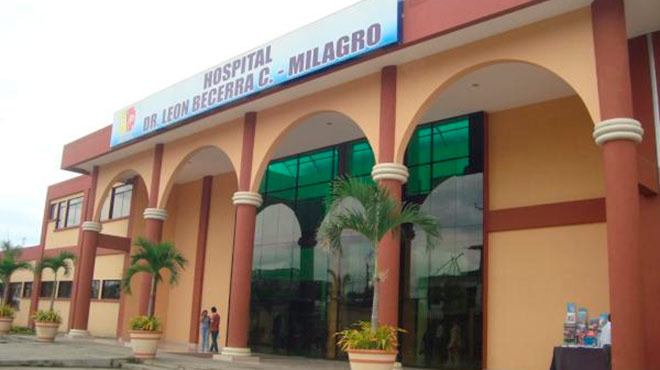 Los menores fueron trasladados al Hospital Le�n Becerra Camacho.