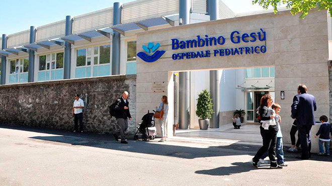 Hospital Bambino Ges� de la Santa Sede.
