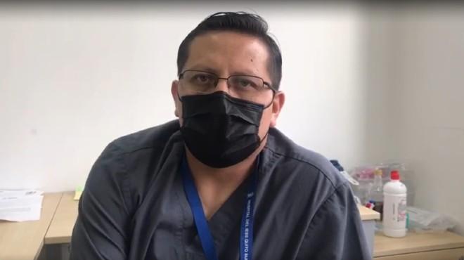 Hugo Espejo, subdirector de Medicina Crítica IESS Quito Sur.