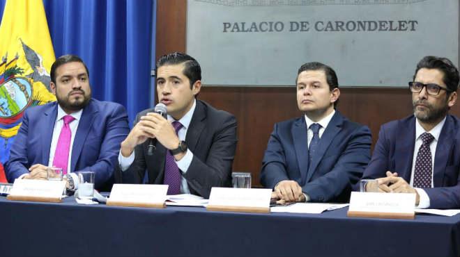Andr�s Madero, Richard Mart�nez, Juan Sebasti�n Rold�n y Iv�n Ontaneda.