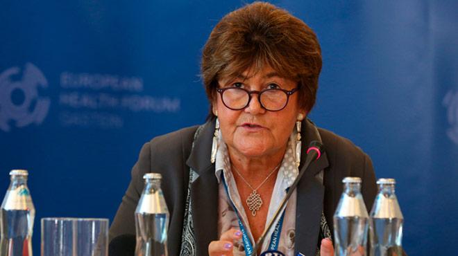Zsuzsanna Jakab, directora regional para Europa de la OMS.