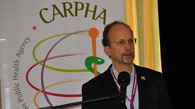 James Hospedales, director ejecutivo de Carpha.
