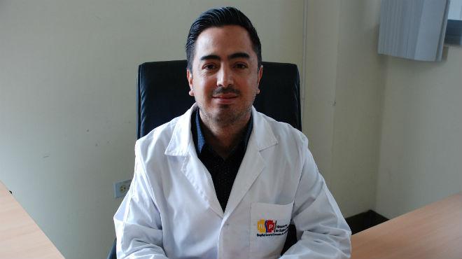 Jorge Pe�aherrera, gerente del HGDC.