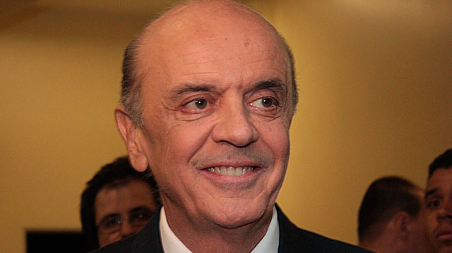 José Serra, canciller brasileño.