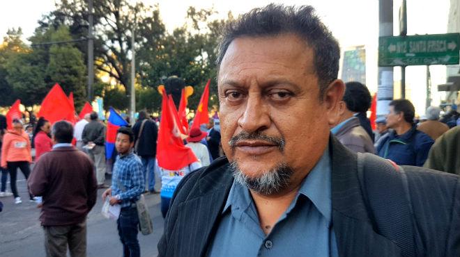 José Eras, presidente de la Federación Médica Ecuatoriana.