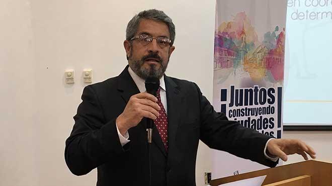 José Ruales, secretario de Salud del Municipio de Quito.