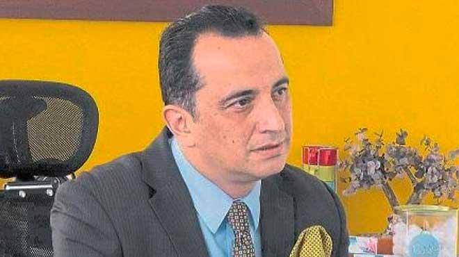 Juan Carlos Mej�a, gerente de Altadis Farmac�utica.