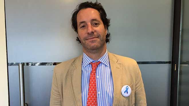 Juan Pablo Sade, oncólogo clínico del Instituto Alexander Fleming de Argentina.