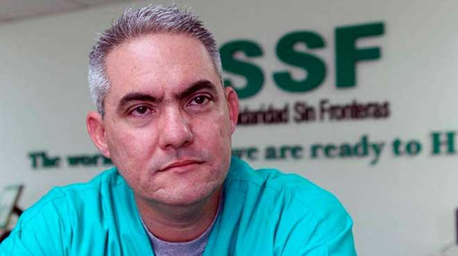 Julio César Alfonso, presidente de Solidaridad Sin Fronteras.