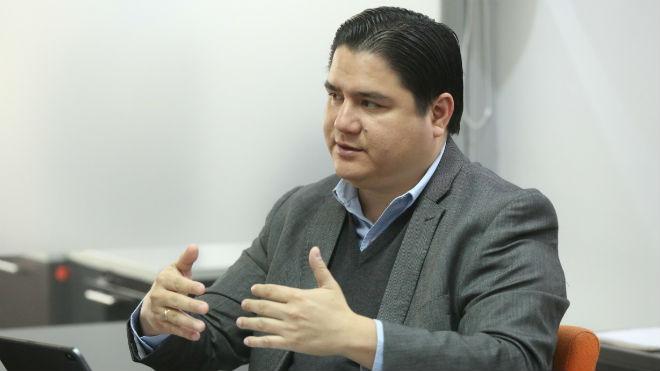 Julio L�pez, viceministro de Atenci�n Integral.