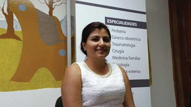Karla Baquero, coordinadora zonal 2 Salud.