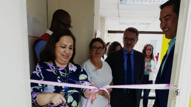 Inauguraci�n de la sala de apoyo a la lactancia materna del Baca Ortiz.