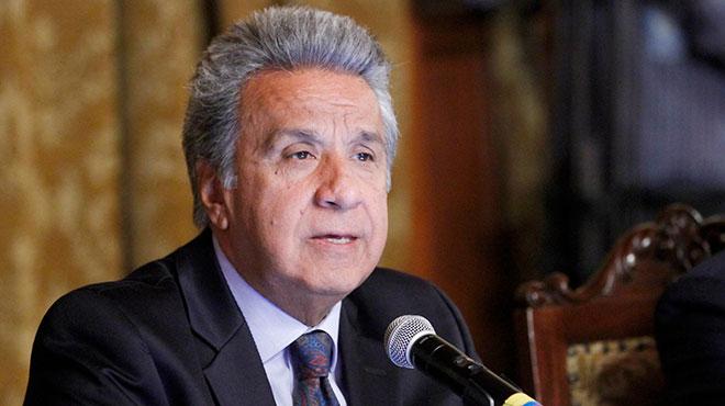 Len�n Moreno, presidente de Ecuador.