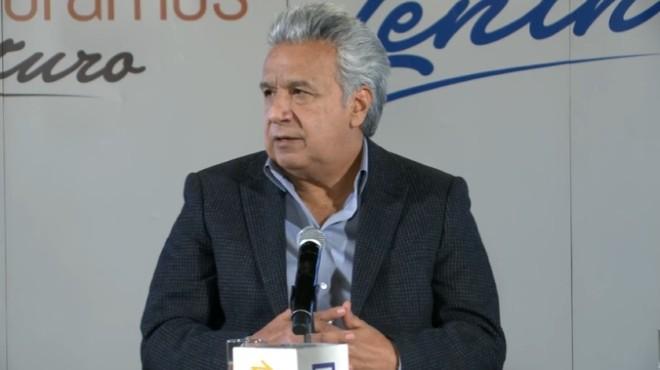 Presidente Len�n Moreno.