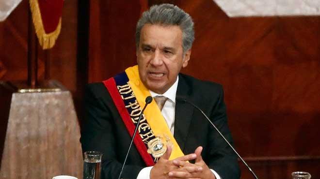 Lenín Moreno, nuevo presidente de Ecuador.