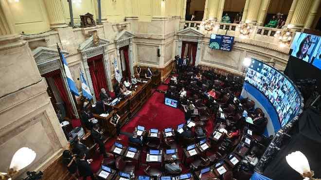 El Senado ha debatido por m�s de 12 horas el proyecto de ley.