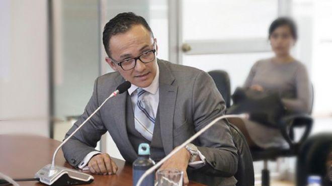 Santiago Z��iga, presidente de la ASEMP.