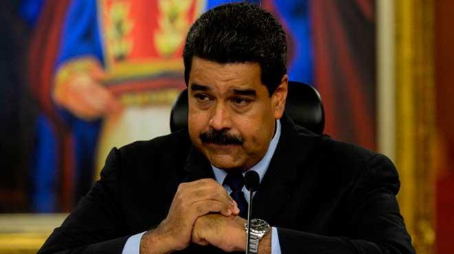 Nicol�s Maduro, presidente de Venezuela.