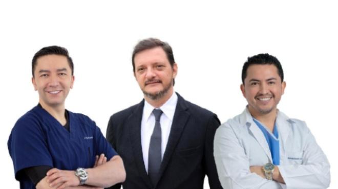 David Cabrera, Manoel Galvao y Jonathan Jerez.