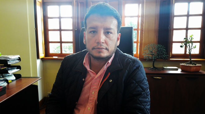 Lenin Mantilla, gerente del Hospital de Especialidades Eugenio Espejo.