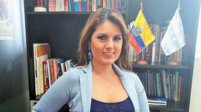 Mar�a Cristina Kronfle, asamble�sta.