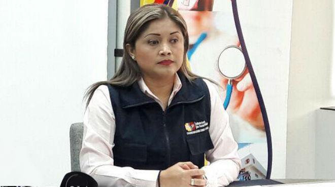 Marian Pihuave, coordinadora Zonal 8 Salud.