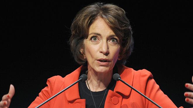 Marisol Touraine, ministra de Sanidad de Francia.