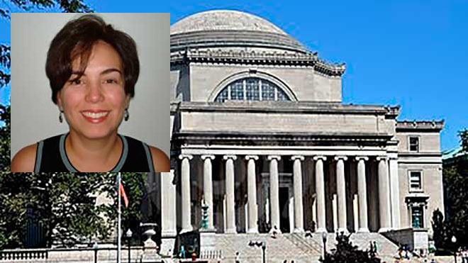 Silvia Martins, universidad de Columbia.
