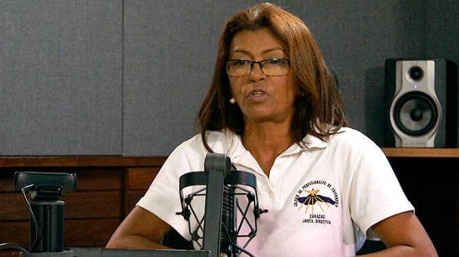 Ana Rosario Contreras, presidenta del Colegio de Enfermeros de Caracas.