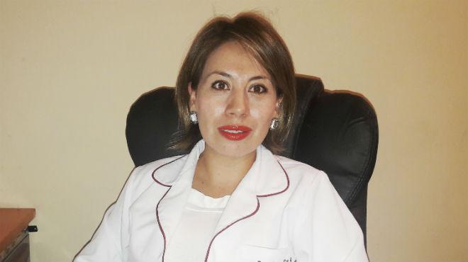 Mayra Ger, m�dico especialista en nutrici�n y diabetes del  Hospital de Especialidades Eugenio Espejo (HEEE).