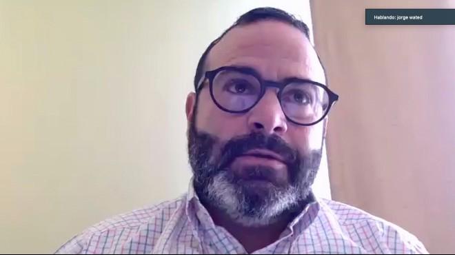 Jorge Wated, presidente del Directorio del IESS.