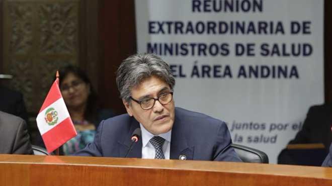 Abel Salinas, ministro de Salud de Perú.