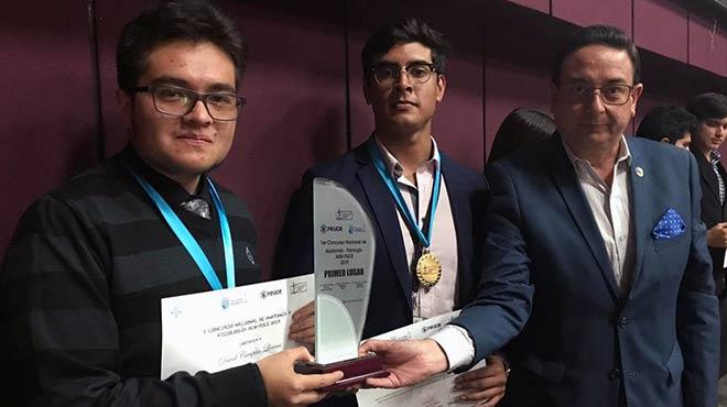 Camilo Campiño, Kevin Padilla y Francisco Pérez.