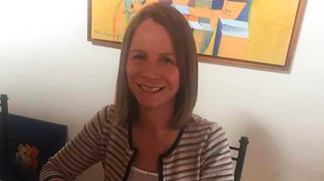 Michelle Grunauer, decana de Medicina de la USFQ.