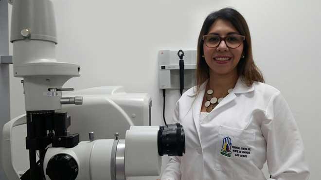 Milvia P�rez, especialista del Hospital Los Ceibos.