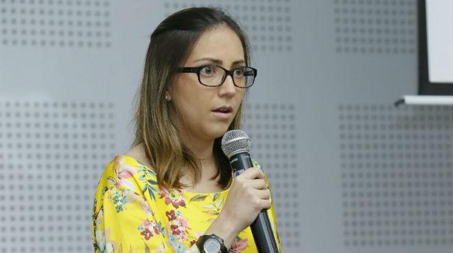 Ver�nica Espinosa, minstra de Salud de Ecuador.
