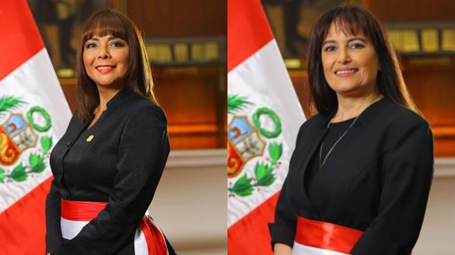 Liliana La Rosa Huertas y Silvia Pessah Eljay.