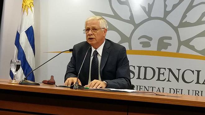 Jorge Basso, ministro de Salud de Uruguay.