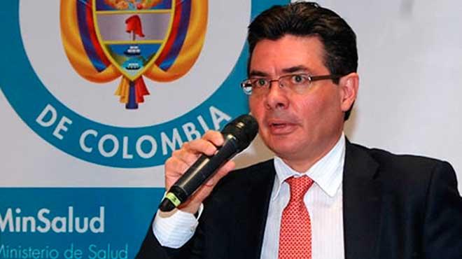 Alejandro Gaviria, ministro de Salud de Colombia.