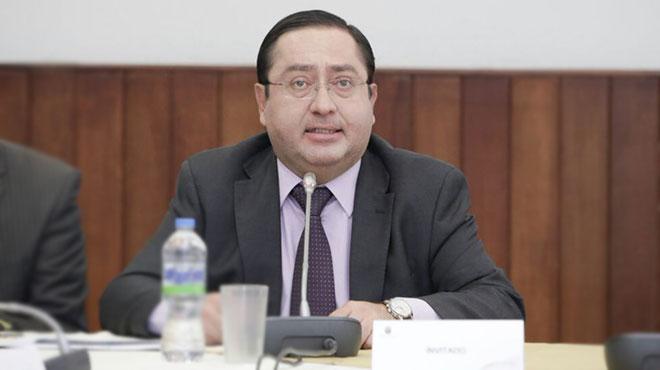 Carlos de la Torre, ministro de Finanzas.