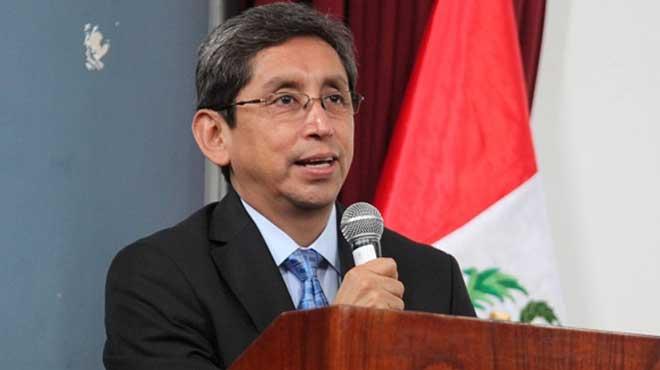 An�bal Vel�squez, ministro de Salud de Per�.