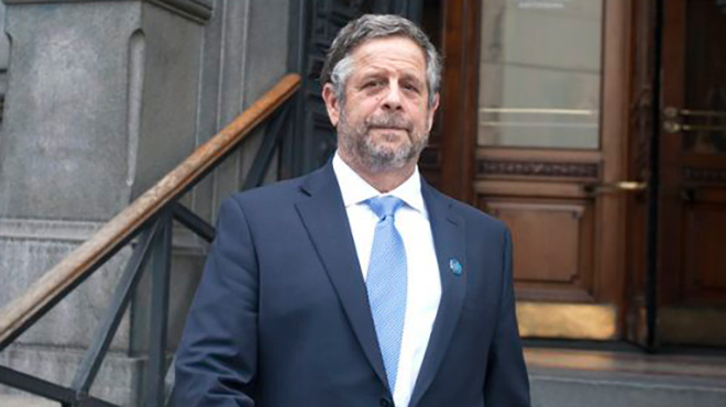 Adolfo Rubinstein, ministro de Salud de Argentina.