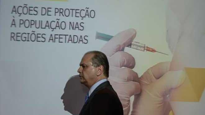 Ministro de Salud de Brasil, Ricardo Barros.