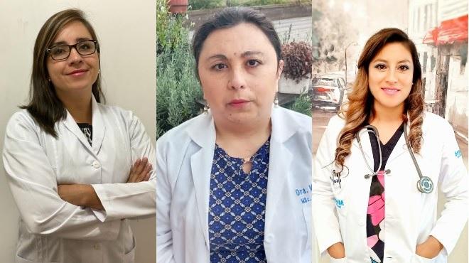 Jane Tricallotis , Bernarda Est�vez, Fernanda Carrasco.