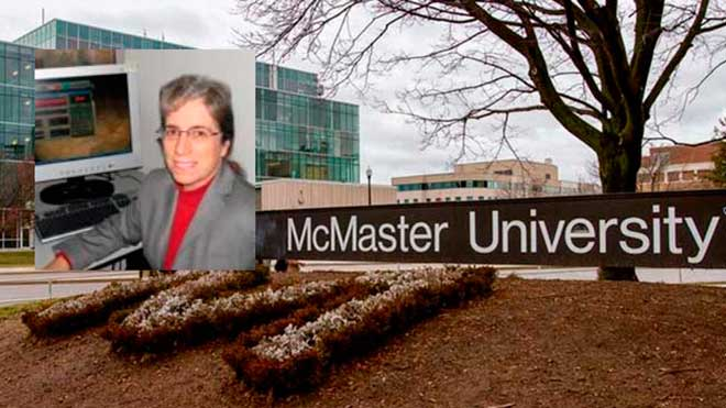 Karen Mathewson, Universidad McMaster de Canad�.