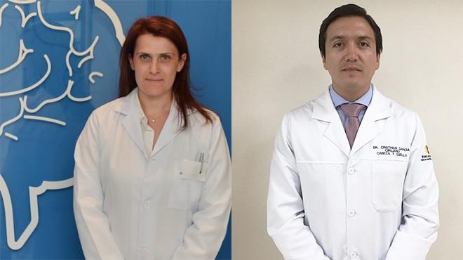 Laura Bottanni y Cristhian García.